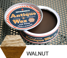 Walnut  Antique Wax
