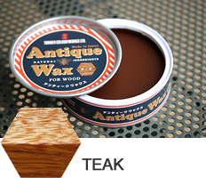 Teak  Antique Wax