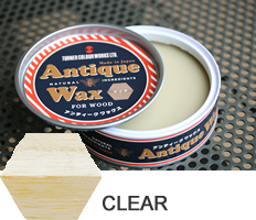 Clear  Antique Wax